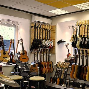 Музыкальные магазины Суры
